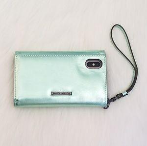 sale retailer 8b0c2 c9c25 Rebecca Minkoff Love Lock Wristlet iPhone X Case NWT